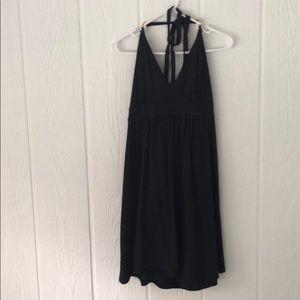 Navy blue Victoria's Secret halter dress
